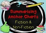 Summarising Fiction & Non-Fiction Anchor Charts