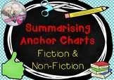 Summarising Fiction & Non-Fiction Anchor Charts