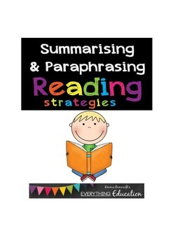 Summarising and Paraphrasing