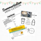 Summarization Mini-Lesson