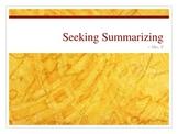 Summarization Powerpoint