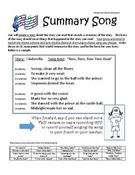 Summarization Song