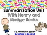 Summarization Unit with Henry and Mudge Books
