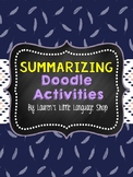 Summarize It Doodle Notes and Stations