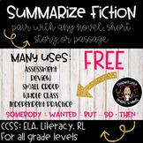 Summarize Fiction- FREE