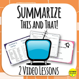 Summarize This and That - a minibundle