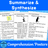 Summarize and Synthesize: Posters to use with The Comprehe