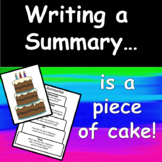 Summarizing Text with passages and graphic organizers