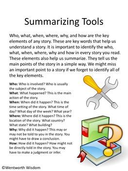 summarizing activities summarizing nonfiction text summary practice summarizing. Black Bedroom Furniture Sets. Home Design Ideas