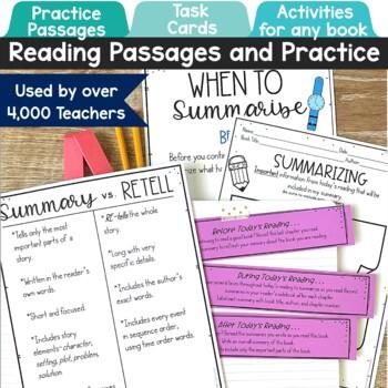 Summarizing Activities and Task Cards