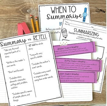 Summarizing Activities Distance Learning