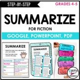 Summarizing Activities and Passages- Writing a summary