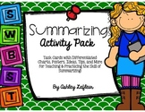 Summarizing Activity Pack