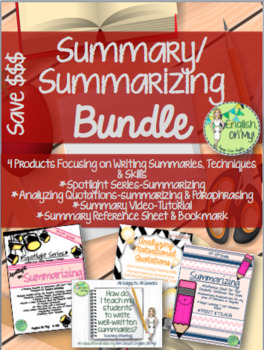 Summarizing BUNDLE! $$$$
