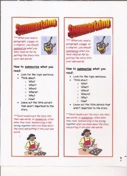 Summarizing Bookmarks