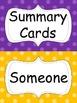 Summarizing Cards