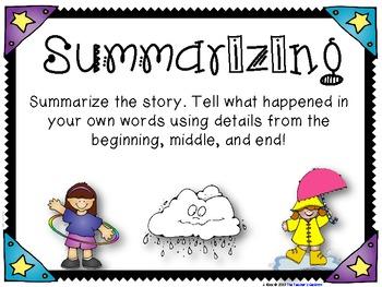 Summarizing Cards and Writing