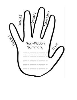 Summarizing Cheat Sheet and Graphic Organizer