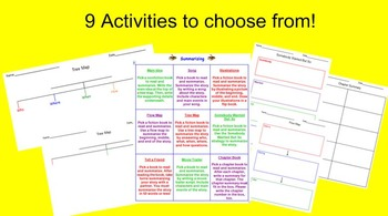 Summarizing Choice Board and Activities