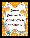 Summarizing Craftivity for Fall with Sweet Summaries Candy Corn Garland