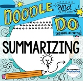 Summarizing Doodle Notes and Learning Activities - Sketch Notes & Hands-On Fun!