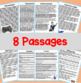 Summarizing Fiction: 8 High-Interest Passages with Multiple-Choice Questions!