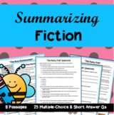 Summarizing Fiction: 8 High-Interest Passages with Multipl