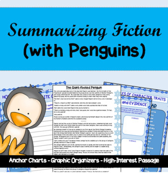 Summarizing Fiction AND Analyzing Character Traits with Penguins!