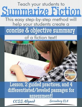 Summarizing Fiction Lesson, Guided and Collaborative Pract