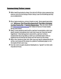Summarizing Fiction - Lesson Plan, Activity, & Rubric