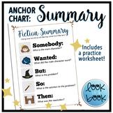 Summarizing Fiction [SWBST] Anchor Chart & Worksheet