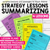 Summarizing Fiction - Small Group Reading Lesson Plans and