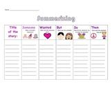 Summarizing Fiction Worksheet