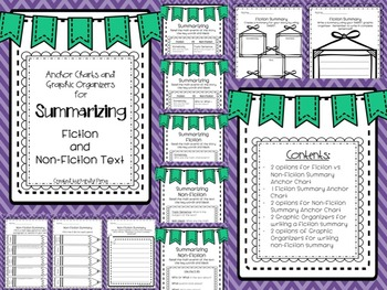 Summarizing Fiction and Non-Fiction Text