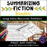 Summarizing Fiction with Folktales Print, Digital TpT Ease