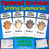 Summarizing Fiction Small Group Instruction: Four Tri-fold