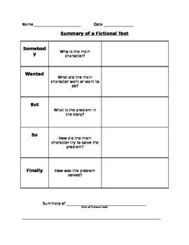 Summarizing Fictional Text