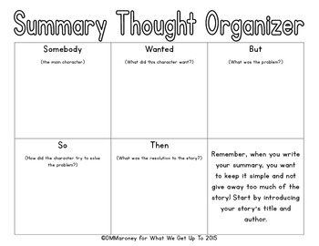 Summarizing Fictional Text for the Lower Grades