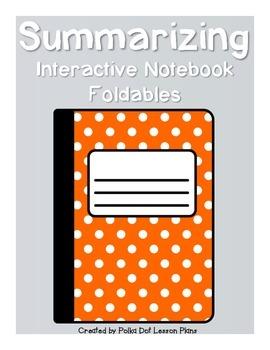 Summarizing Foldables for Interactive Notebooks