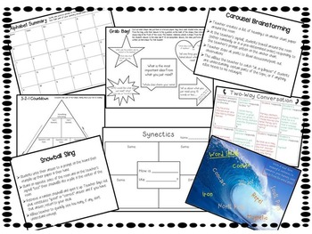 Summarizing Games and Graphic Organizers