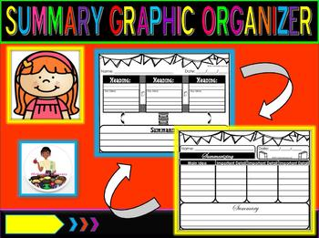 Summarizing Graphic Organizer(2)