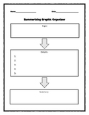 Summarizing Graphic Organizer