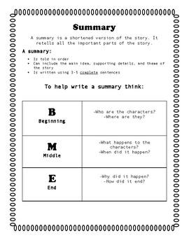 Summarizing Guide-BME