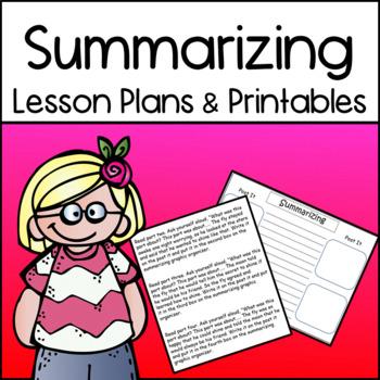 Summarizing: How To Teach Summarizing