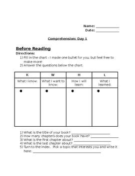 Summarizing Information - 3rd Grade