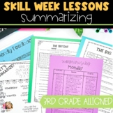Summarizing Lesson Plans with Activities