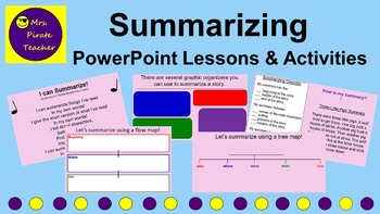 Summarizing Lessons and Activities (PowerPoint)
