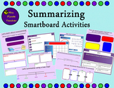 Summarizing Lessons and Activities (Smartboard)
