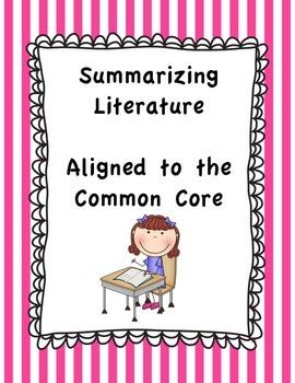 Summarizing Literature - Fab Five Summary