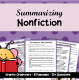 Summarizing NONfiction: 8 High-Interest Passages with Multiple-Choice Questions!